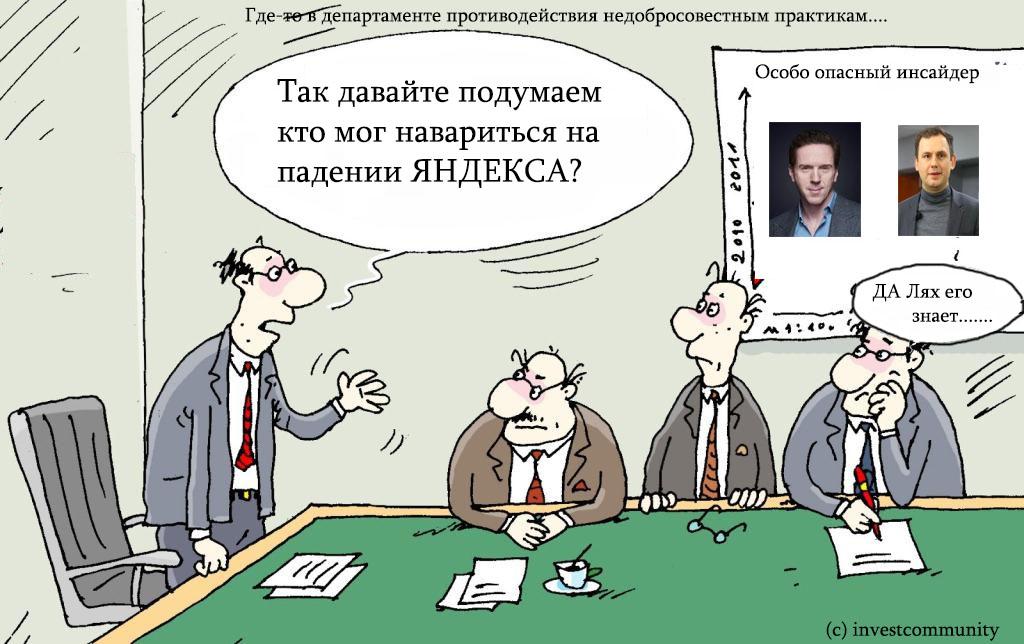 Теория относительности времени биржи. На примере Яндекса. Психология торговли 7.